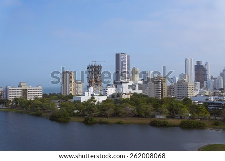 city, skyline, caribbean, view, cityscape, landscape, architecture, sea, building, house, ocean, blue, port, water, sky, white, new, apartment, urban, america