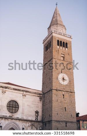 City Tower in Koper, Slovenia - stock photo