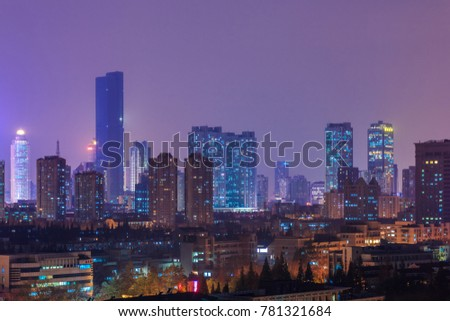 City urban landscape