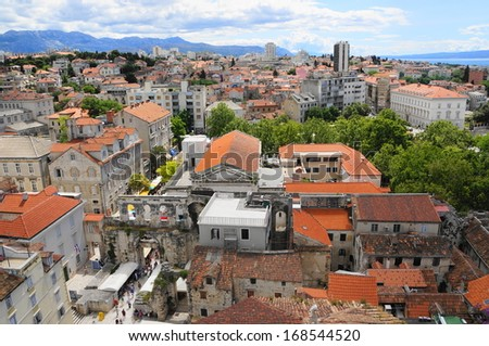 city view of Split