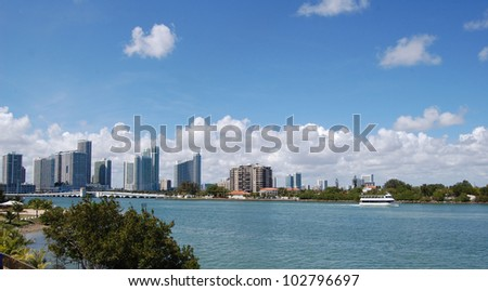 cityscape by the sea