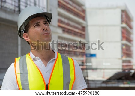 Civil Engineer during a site walk