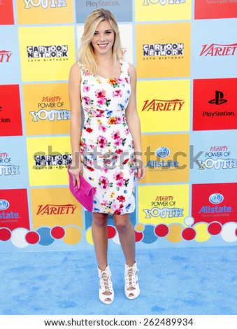 Claire Julien at the Variety's 6th Annual Power Of Youth held at the Paramount Studios in Hollywood on September 15, 2012.  - stock photo