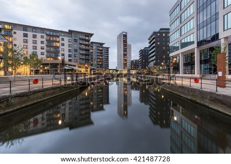 Clarence Dock in Leeds, also called Leeds Dock