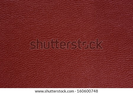 Claret (Bordeaux) Glossy Artificial Leather Background Texture - stock photo