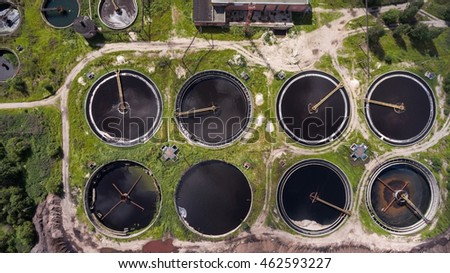 Clarifiers or settling tanks with mechanical means for continuous removal of solids in water treatment plant