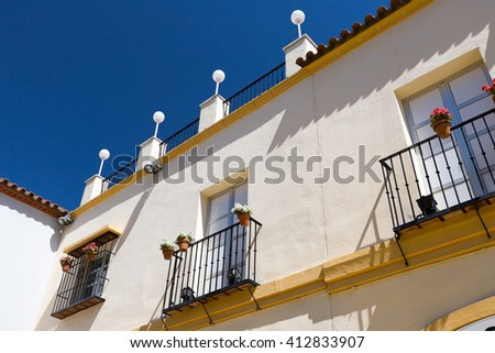 Classic Andalucian Spanish house