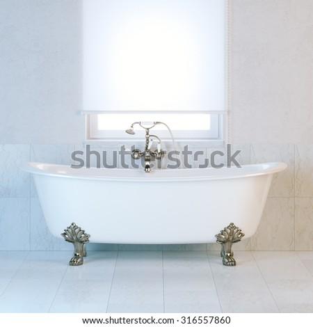 Nice Classic Bathroom Interior