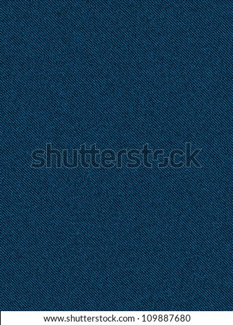 classic blue jeans seamless texture background - stock photo