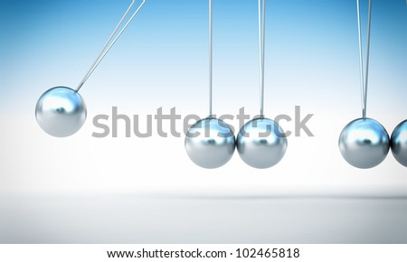 classic chrome newton cradle without ball