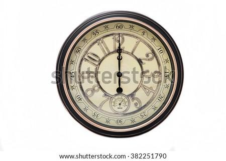 classic clock - stock photo