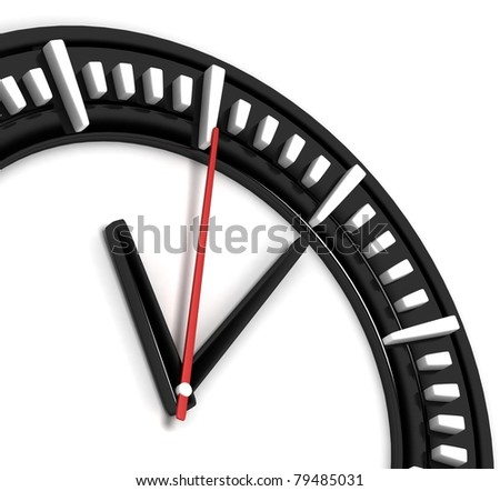 Classic Clock - stock photo