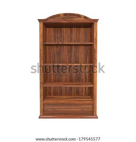 Wooden Bookshelf Stock Images Royalty Free Images