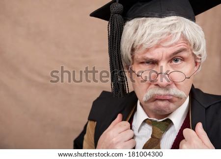 Classic English School Headmaster - stock photo