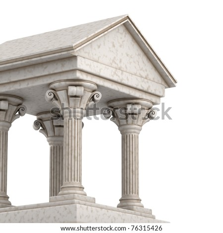Classic Greek Building