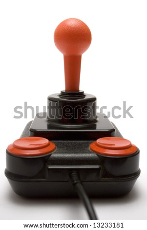 Classic Joystick - stock photo