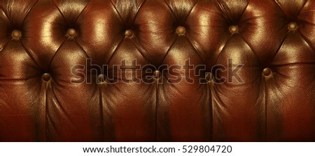 Classic leather furniture