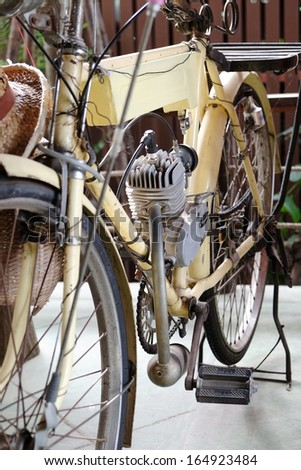 Classic motorized bicycles