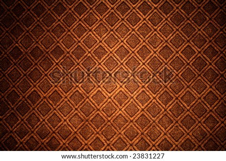 Classic old wallpaper - stock photo