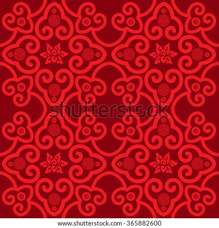 Classic Oriental Pattern - stock photo