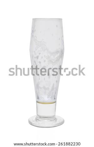 Classic Pilsner Beer, Empty - stock photo