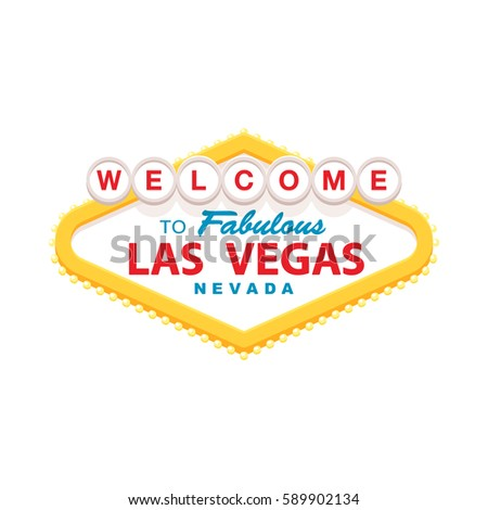 Vegas sign stock images royalty free images vectors shutterstock classic retro welcome to las vegas sign simple modern flat style illustration pronofoot35fo Choice Image