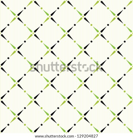 Classic styled color seamless pattern. Retro background