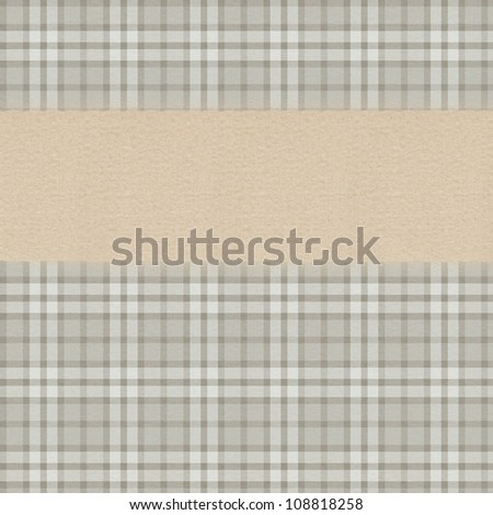 Classic textured pattern with space for text - stock photo
