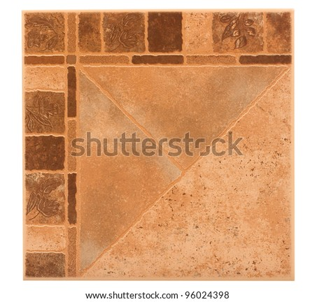 Classic wall tile or floor tile for decorate your place - stock photo