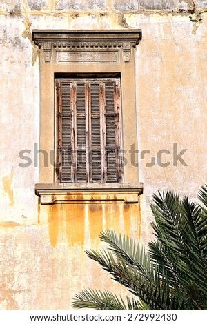 Classical Architectural Details from Lebanon - stock photo