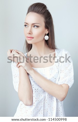 Classical beauty - stock photo