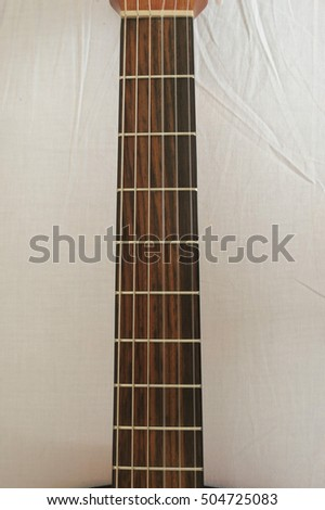classical guitar with nylon strings