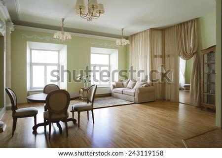 Classical interior - stock photo