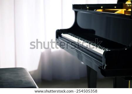 Classical Piano - stock photo
