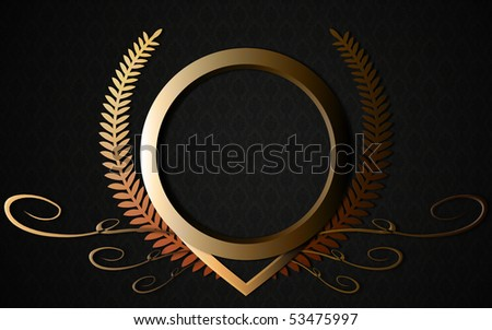 Classical ring - stock photo