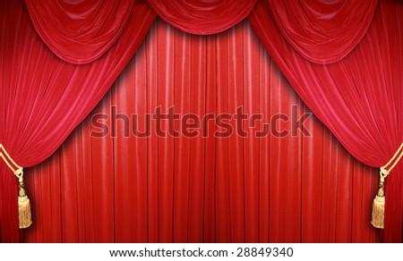 classical theatre - stock photo