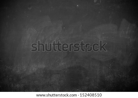 Classroom blackboard - stock photo