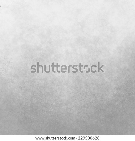 classy gray background with pale top border and gradient color to darker bottom border, old distressed vintage background with faded white color and vintage grunge texture - stock photo