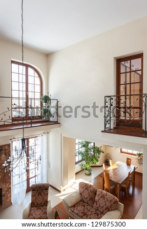 Second floor stock images royalty free images vectors for 2nd living room ideas