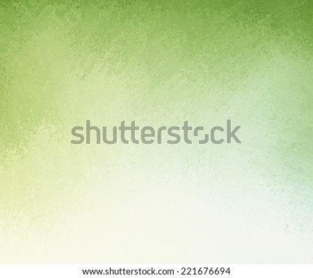 classy light green background with white gradient color into darker green grunge design border texture with soft lighting - stock photo