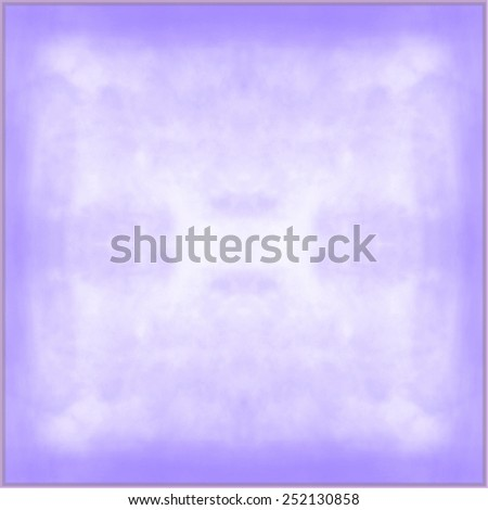 classy light purple background with pastel top border and gradient color to dark purple border, old distressed vintage purple background with faded white color and vintage grunge texture - stock photo