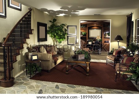 Classy Living Room  - stock photo