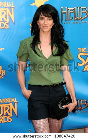 Claudia Black  at the 34th Annual Saturn Awards. Universal Hilton Hotel, Universal City, CA. 06-24-08