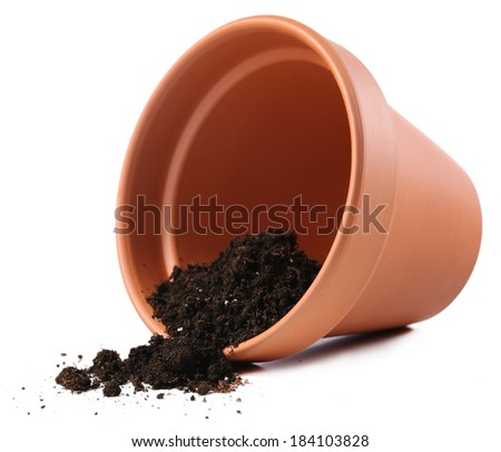 Potting soil stock photos images pictures shutterstock for Clay potting soil