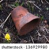 clay pot for flowers - stock photo