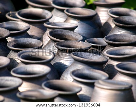 Clay pots - pottery