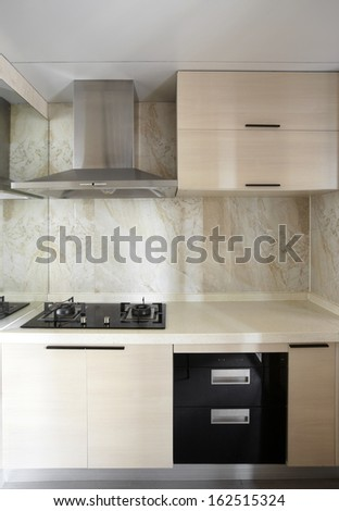 Clean and comfortable home kitchen