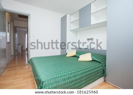clean and fresh bedroom