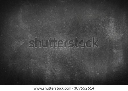 Clean chalk board  background - stock photo