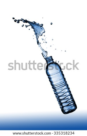 Clean drinking water quenches thirst better. - stock photo